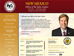 New Mexico Office of the State Auditor